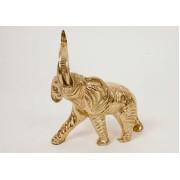 Слон мален. золотистый 18х17 см.