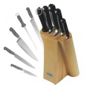 Набор ножей 5 пр с деревянной подставкой Konig
