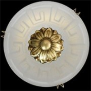 Галогеновый светильник из бронзы. Цвет матовый