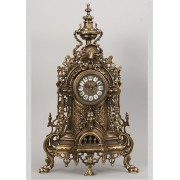 Часы каштан 58х34 см.