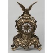 Часы с орлом каштан 38х25 см.