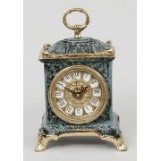 Часы прямоугольные синий 22х14 см.